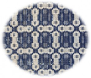 Figure 1. The unique pattern design of the Tipton family coverlet.