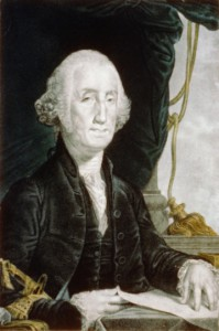 Figure 7. Painting of George Washington, president of the United States from 1789 - 1797. Courtesy of Natural Concepts.