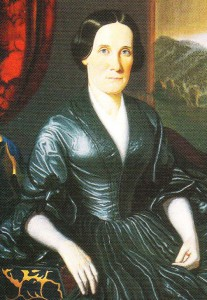 Figure 1. Close-up image of the Shaver portrait of Eleanor Powell Haynes.