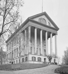 Figure 2. A photograph of the Confederate capitol in Richmond, Virginia. Courtesy of Natural Concepts.