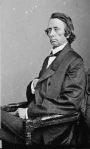 Figure 5. Civil War era photograph of William Brownlow. Courtesy of the Library of Congress Prints and Photographs Division.