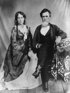 Figure 6. This photograph of Landon and Eleanor Haynes was taken sometime after the Civil War while they were living in Memphis.